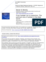 Volume 15 Issue 2013 Tuastad, Dag -- From Football Riot to Revolution. the Political Role of Football in the Arab World
