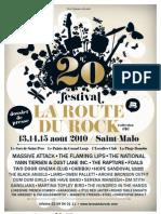 festival la Route du Rock 2010