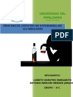 Pae Alcoholismo Lizbeth Doroteo , Antonia Marleni Mendez