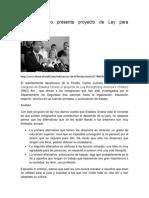 Carlos Curbelo Presenta Proyecto de Ley Para Dreamer