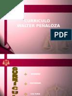 Curriculo Integral de Walter Peñaloza