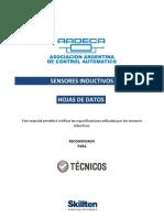 Hojas de Datos Sensor Inductivo