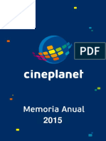 Cineplanet Memoria Resumen 2015