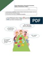 Guía Portal Pronombres Demostrativos