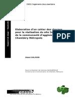 Cahier Des Charges Pour La Realisation Du Site Internet