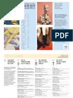 Programme Histoire Art Details