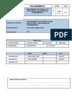 Procedimiento Geomembrana HDPE