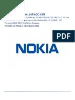 Informe de Gestion NOC - Mayo 2015