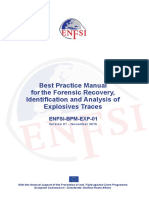 9. Forensic Recovery Identification and Analysis of Explosives Traces 0