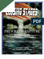 The Prewrath Position Teachers Manual