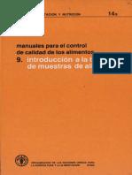 FAO-Manual calidad 9.introduccion toma de muestras.pdf