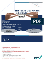 Evaluation Interne Des Postes Sensibles
