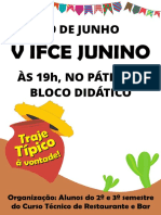 Cartaz - V IFCE Junino - 2017