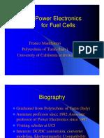 EMC Converter Design Fuel Cell Technology