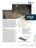 ABG Tunnel Drainage Invert Deckdrain Pladutsch Graz Austria CASE STUDY