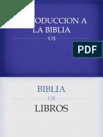 1.LA BIBLIA Tema Catequistas