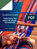 Kpmg Unlocking Value Social Investment