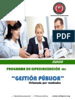 Informacion General Gestion Publica
