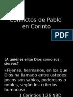 Conflictos de Pablo en Corinto