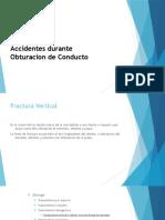 Accidentes en Endodoncia
