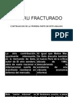 El Peru Fracturado II