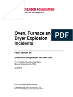 Rf Oven Furnace Dryer Explosion Incidents