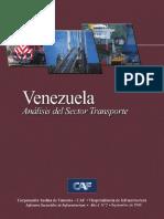 Venezuela, Anáisis Del Sector Transporte
