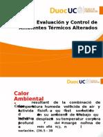Evaluacion y Control Temperaruras Extremas