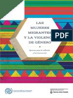 Las Mujeres Migrantes y La Violencia de Género. Argentina