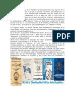 La Constitución Política de La República de Guatemala Es La Ley Suprema de La República de Guatemala
