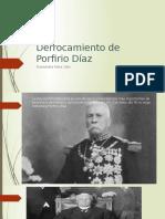 Derrocamiento de Porfirio Díaz