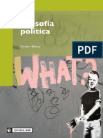Bilbeny, Norbert - Filosofía Política