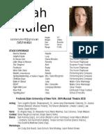 Resume May 2017