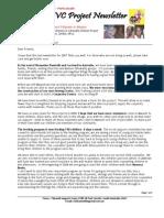 December 2007 Mwandi Zambia Orphans Project Newsletter