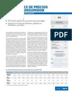 Boletín Índice de Precios Al Consumidor (Ipc) Abril 2017