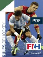 Fih Rules of Hockey 2017
