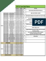 GATE Study Planner -EE