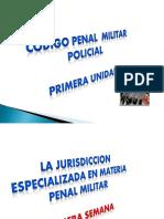 Juridiccion Especializada en Materia Penal Militar