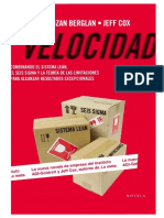 Velocidad - TOC - Lean - Seis Sigma