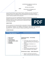 course content pedagogy andragogy