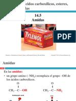 ac. carboxilcos , Amidas
