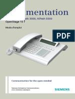 Siemens HiPath 3000 (OpenStage 15 T) Phone