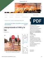 Interpretando el VAN y la TIR_.pdf