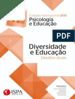 eBook XIII Coloquio Internacional Psicologia e Educacao Junho2015