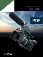 HVR-A1U manual español