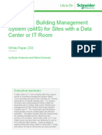 Wp 233 Selecting a Building Management System Bms for Sites With a Data Center or It Room