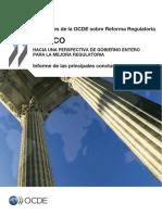 OCDE (2012) Revisiones de Reforma Regulatoria de Mexico - Resultados