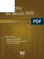Filosofia Do Seculo XVIII