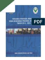 Renstra Dinkesjatim 2014 2019 Revisi 27 Sept 2016 Indikator Tujuan