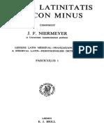 Niemeyer, Mediae Latinitatis Lexicon 1976
